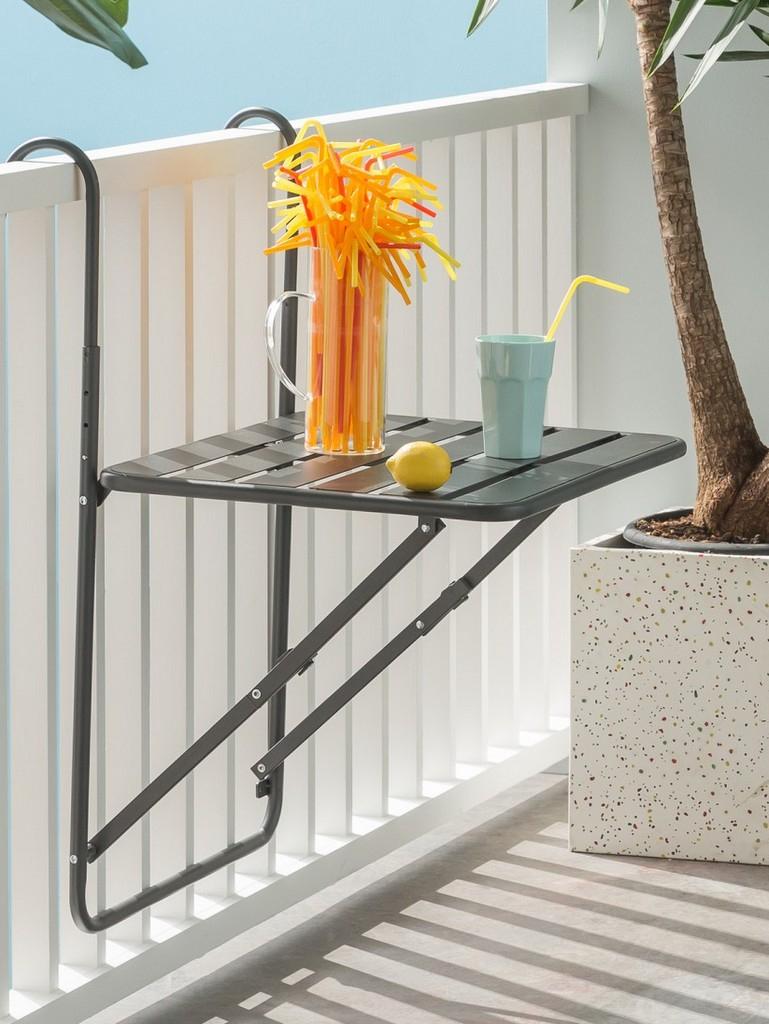 Où Trouver Une Table De Balcon Rabattable - Joli Place destiné Table Balcon Suspendue