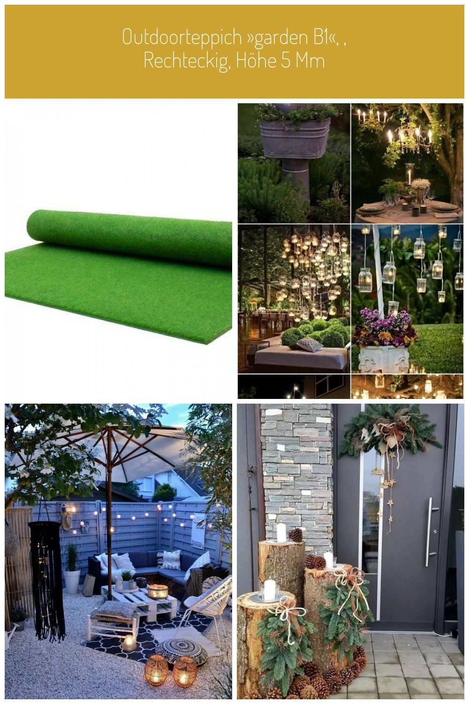 Outdoorteppich »Garden B1«, , Rechteckig, Höhe 5 Mm ... encequiconcerne Decoration Exterieur