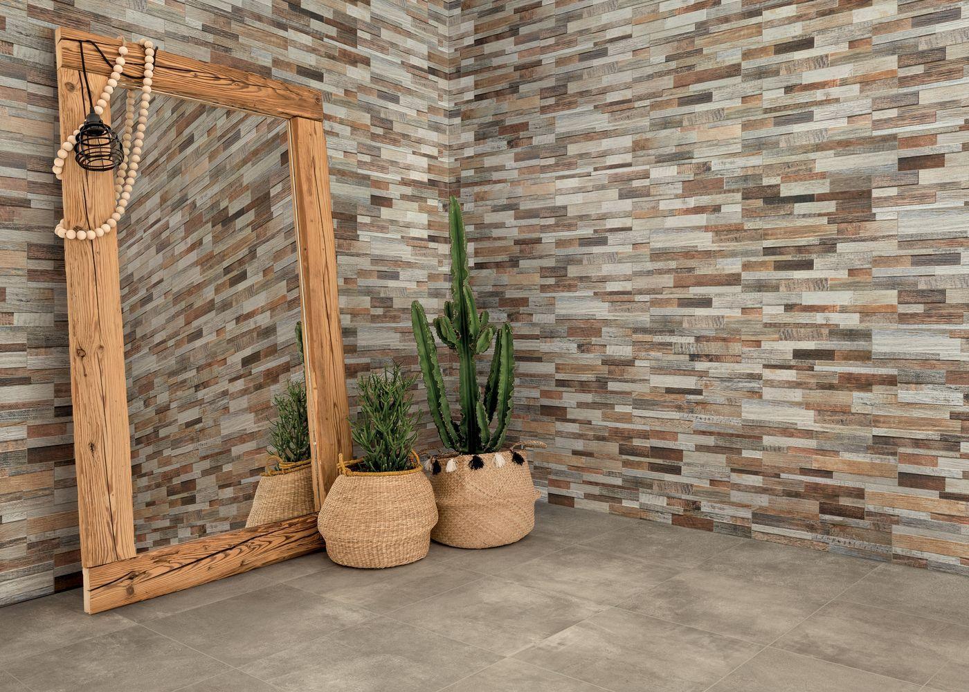 Parement Mur Extérieur Terrasse Inwood 3D| Vm #cactus ... intérieur Carrelage Pour Mur Extérieur