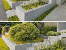 Parterre Surélevé Et Bac À Fleurs En Béton –10 Idées ... encequiconcerne Parterre Jardin Moderne