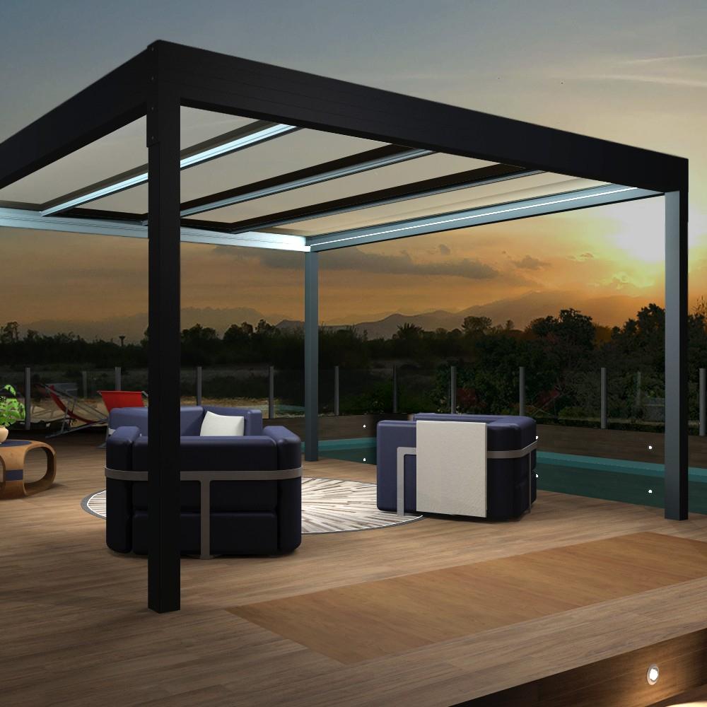 Pergola Architect Thermotop® Autoportée En Aluminium à Pergola Thermotop