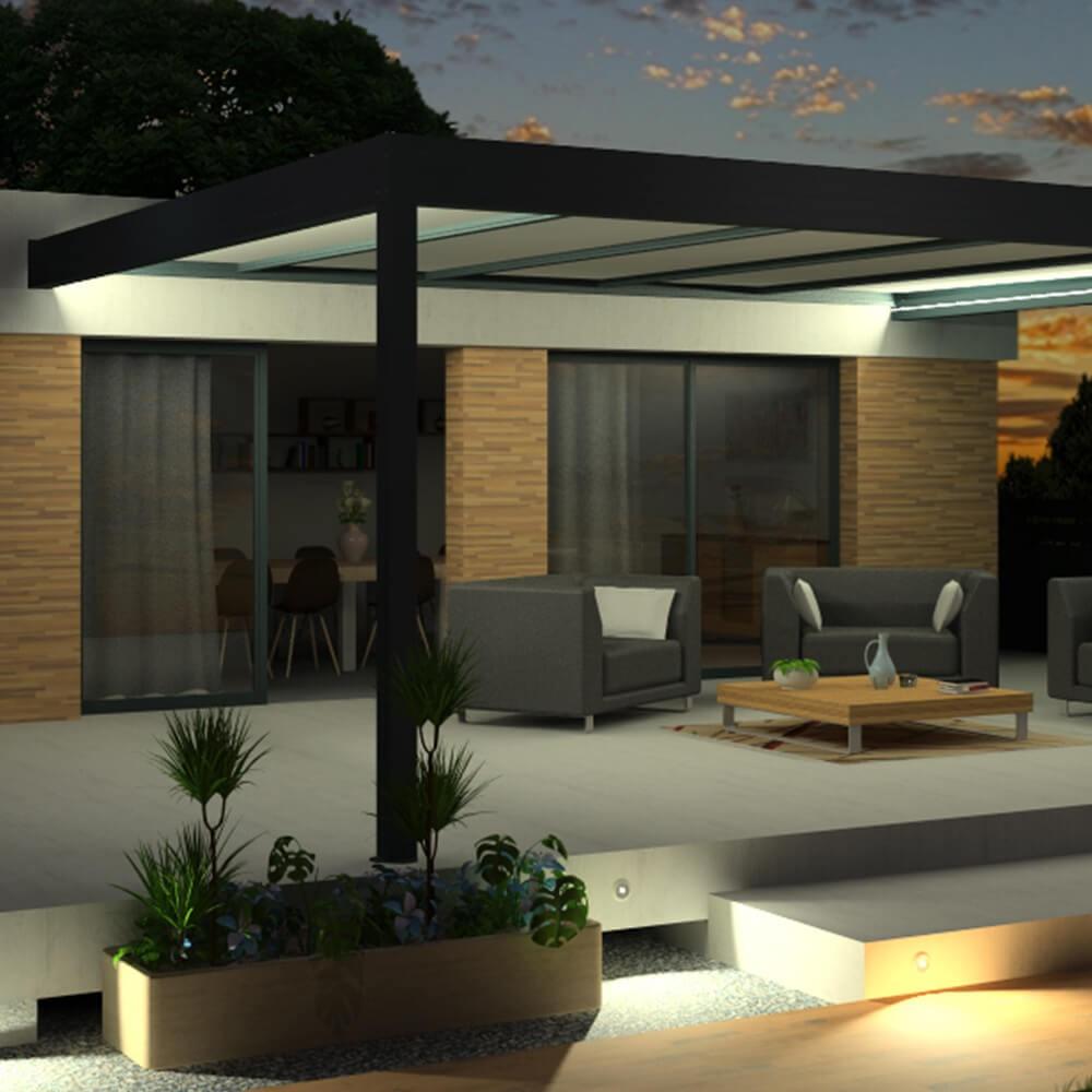 Pergola Architect Thermotop® En Aluminium avec Pergola Thermotop