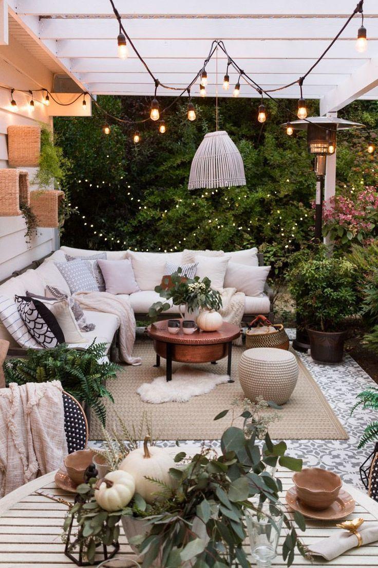 Petites Notes D'amour | Decoration Terrasse, Deco Terrasse ... serapportantà Decoration Exterieur