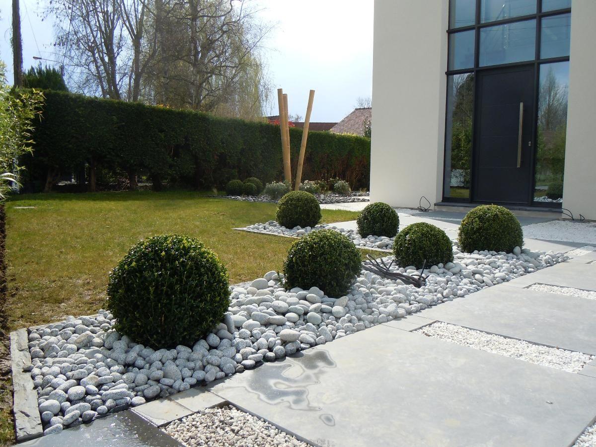 Photos Les Jardins De La Pévèle À Coutiches - Paysagistes ... destiné Parterre Jardin Moderne