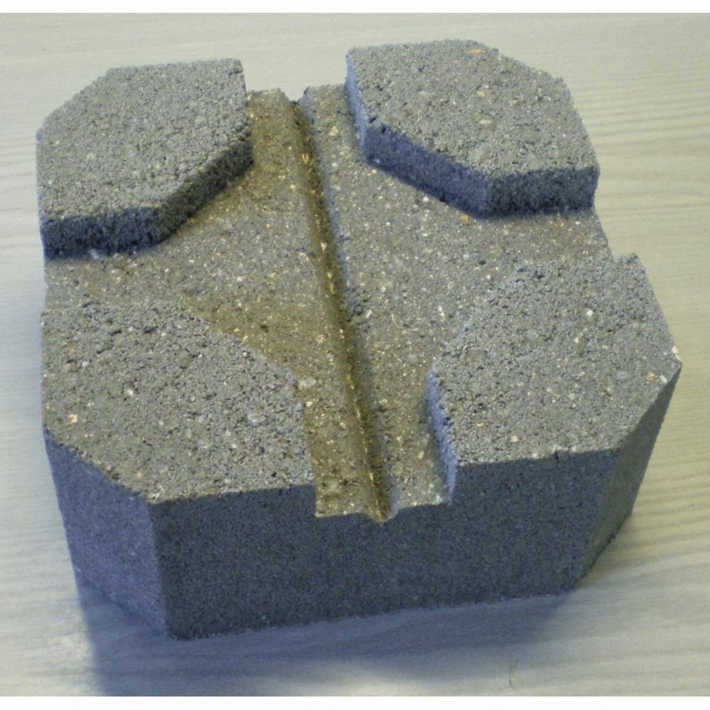 Plot Béton Pour Terrasse 24 X 24 X 10 Cm 7948000 pour Dalle Stabilisatrice Beton Pour Plot
