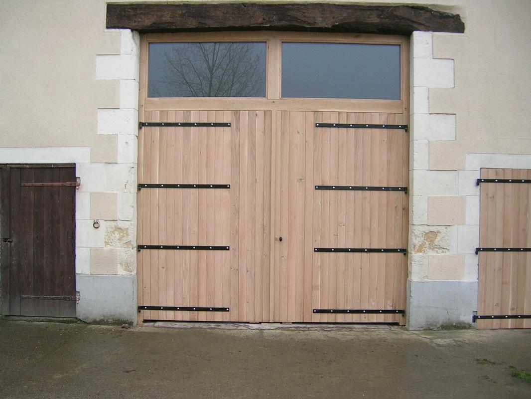 Portes De Garage - S.v.l destiné Porte Abri De Jardin 2 Vantaux