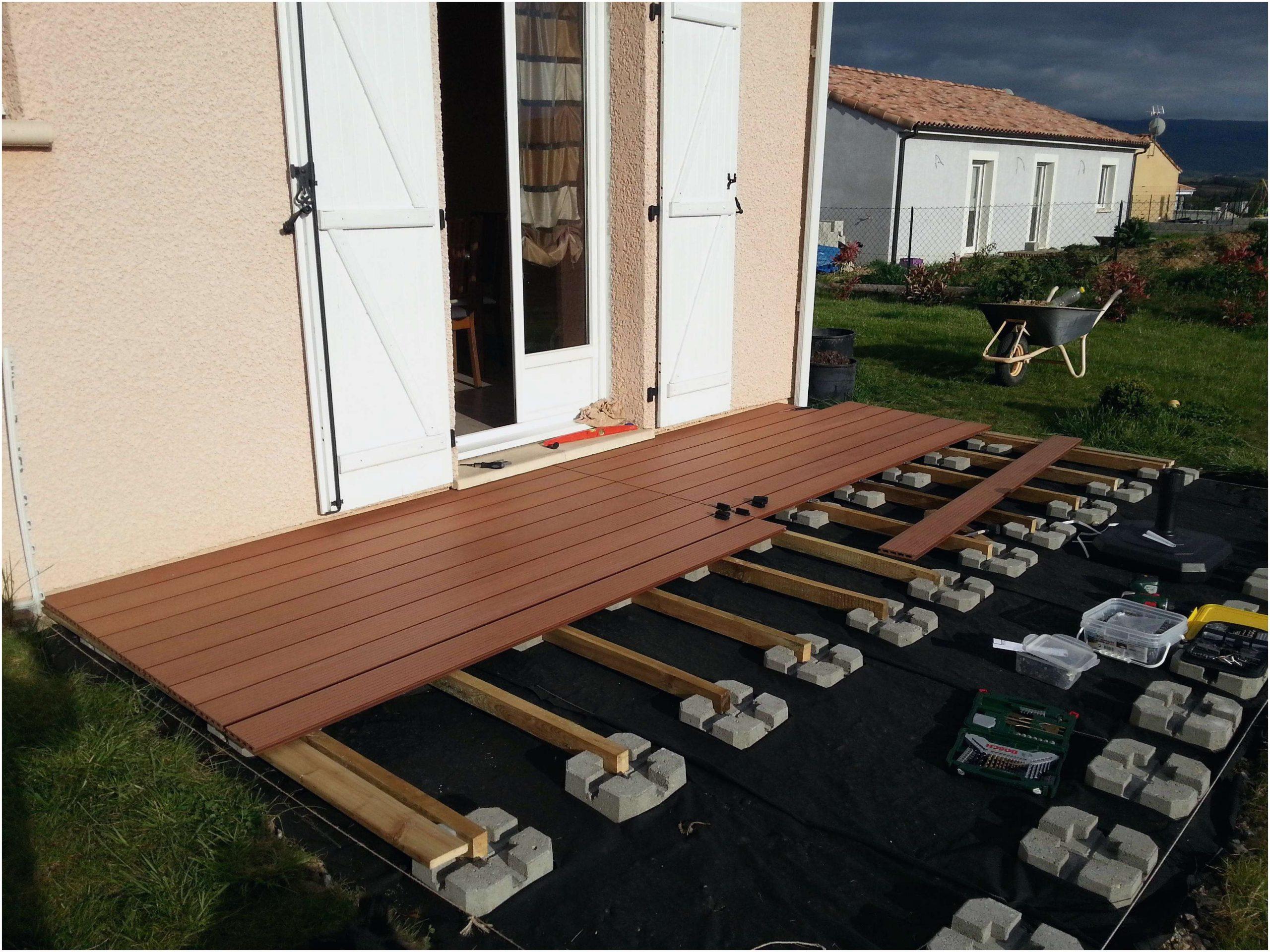 Pose Carrelage Terrasse Exterieur Leroy Merlin   Venus Et Judes destiné Plot Terrasse Dalle Leroy Merlin