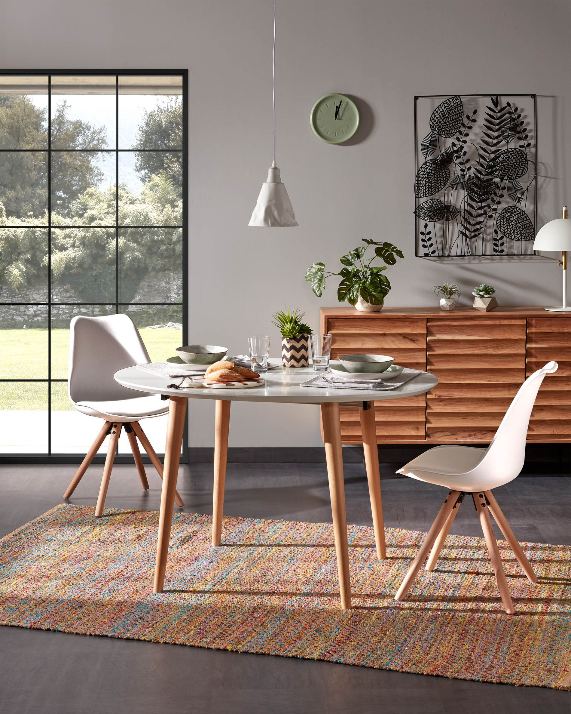 Ralf Chair White And Natural | Kave Home® serapportantà Kave Home