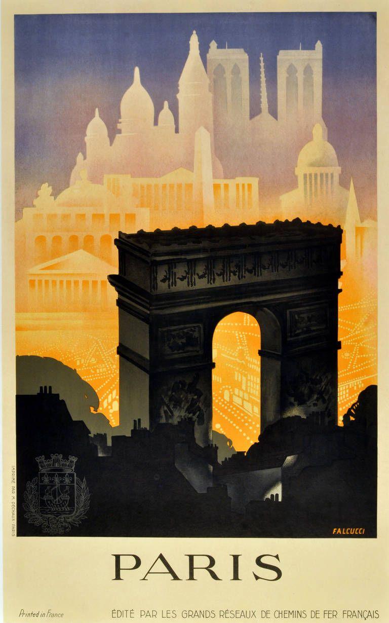 Robert Falcucci - Paris: Original Vintage 1930S Art Deco ... intérieur Deco In Paris
