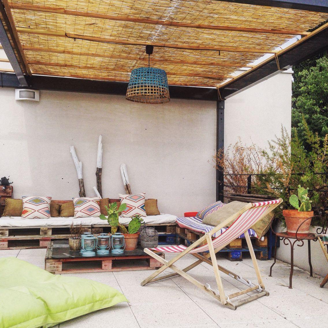 Rooftop - #terrasse #rooftop #deco #outside #exterior ... serapportantà Marie Claire Maison Amenagement Devant Maison