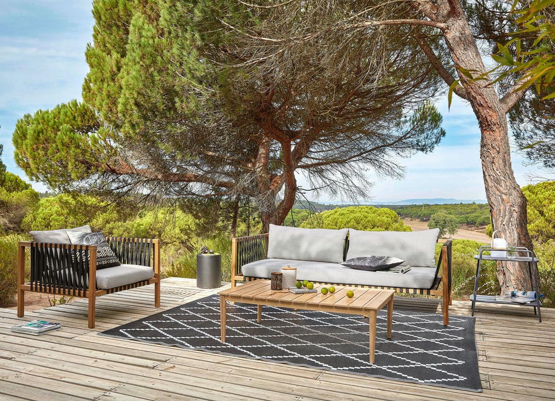 Salon De Jardin Naxos Maisons Du Monde serapportantà Salon De Jardin Naxos