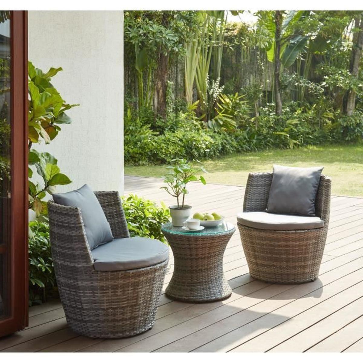 Salon De Jardin Petit Espace pour Petit Salon De Jardin