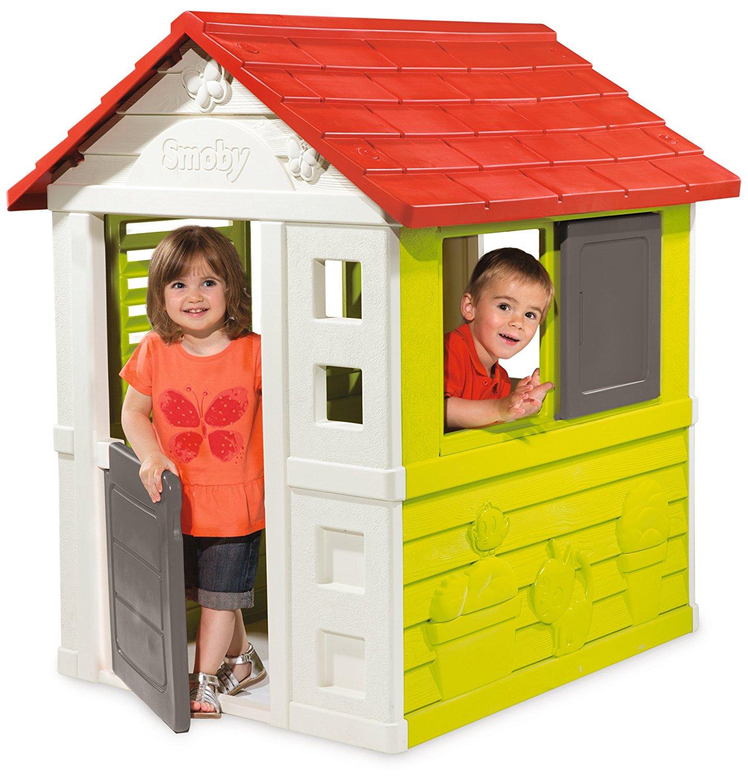Smoby - 810704 - Maison Nature, Une Bonne Petite Cabane De ... à Maison Smoby Occasion