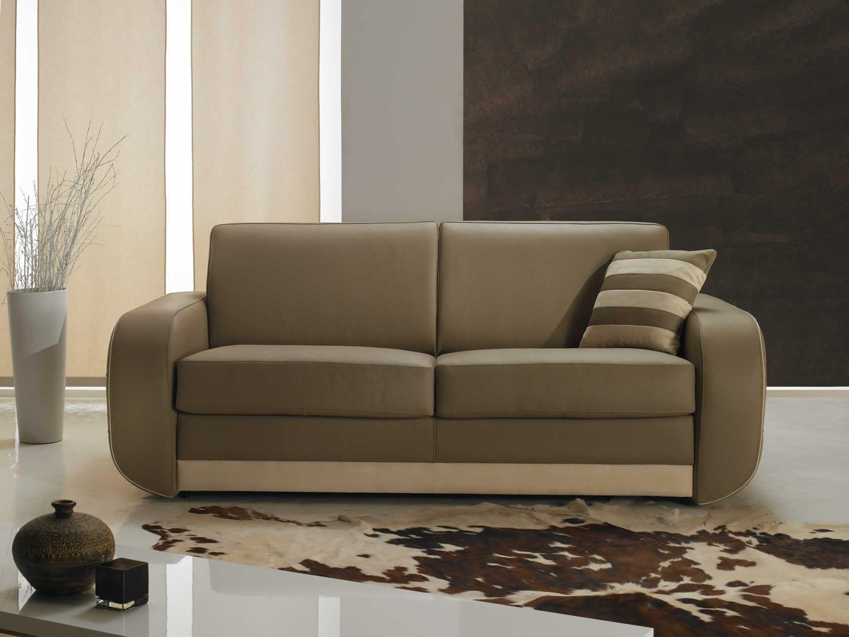 Sofa Bed - Island - Very Sofa - Contemporary / Leather / Fabric encequiconcerne Verysofa