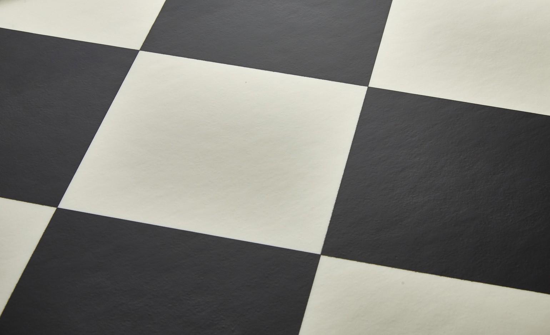 Sol Vinyle Bubblegum, Carrelage Damier Noir Et Blanc, Rouleau 4 M serapportantà Carrelage Damier Noir Et Blanc 30X30