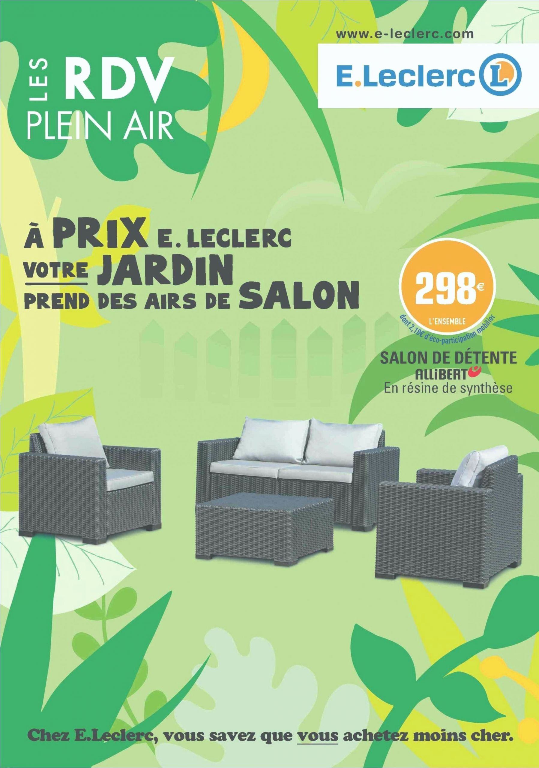 Soldes Salon De Jardin Leclerc Table De Salon De Jardin ... à Table De Jardin En Resine Tressee Leclerc