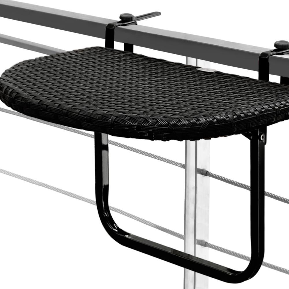 Table De Balcon Suspendue Et Ajustable encequiconcerne Table Balcon Suspendue