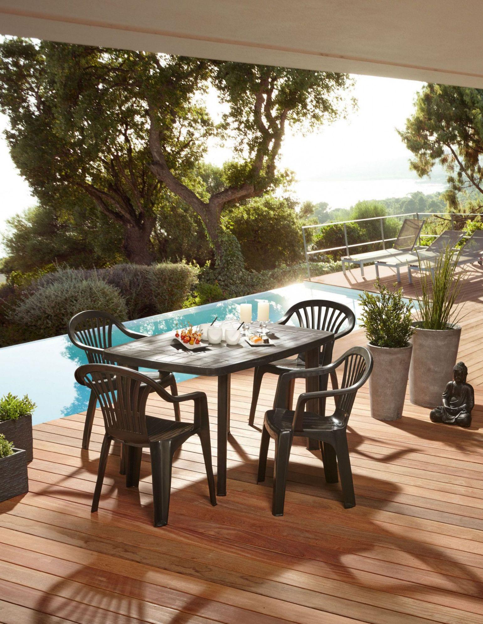 Table De Jardin Hesperide Piazza | Patio, Outdoor Decor, Jardin à Fauteuil Hesperide Piazza Centrakor