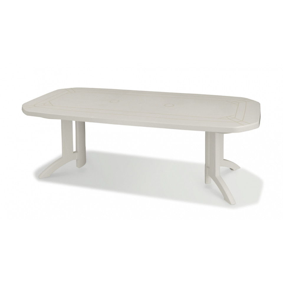Table De Jardin Vega 220 Cm tout Table Vega Grosfillex Carrefour