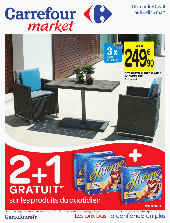 Table De Jardin Vega Pliante Taupe 118 X 77 Cm Superbes ... pour Table Vega Grosfillex Carrefour