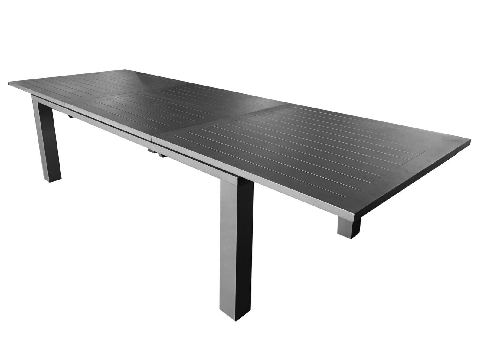 Table Elisa 220/320 Cm destiné Table De Jardin Extensible 320 Cm