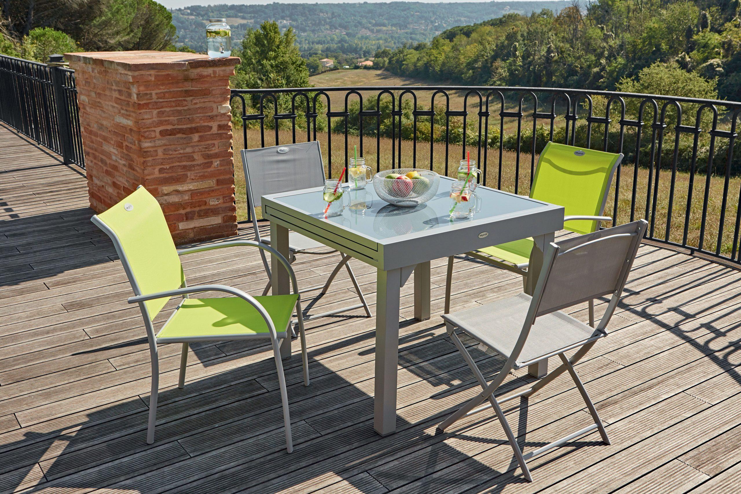 Table Extensible Centrakor | Salon De Jardin Castorama ... pour Centrakor Tables De Jardin
