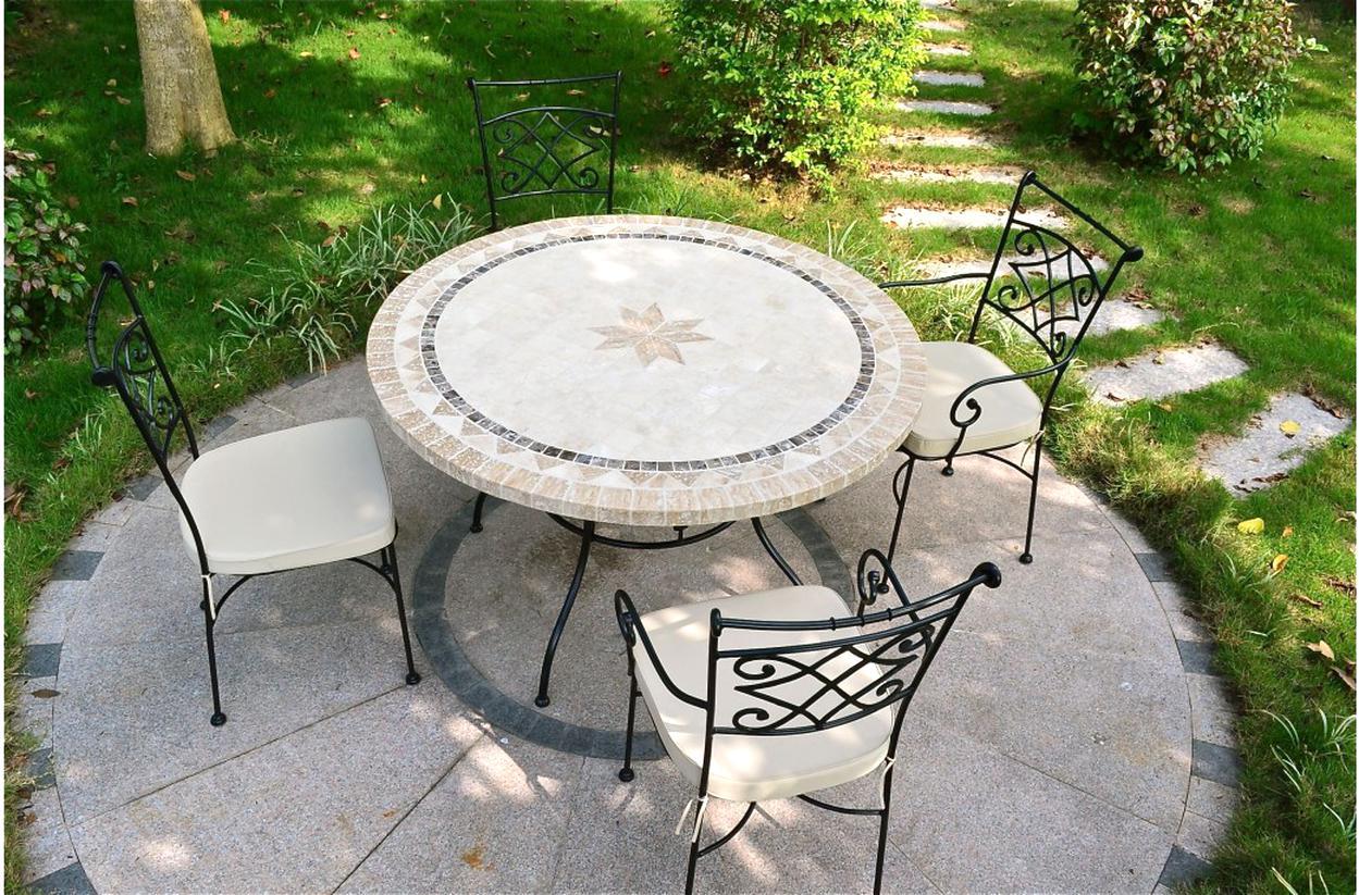Table Jardin Pierre D'occasion dedans Salon Jardin Fer Forgé Occasion Le Bon Coin