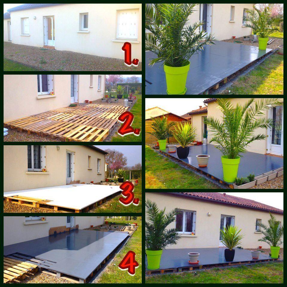 Terrasse | Deco Jardin Pas Cher, Amenagement Jardin ... destiné Idée Déco Jardin Extérieur Pas Cher
