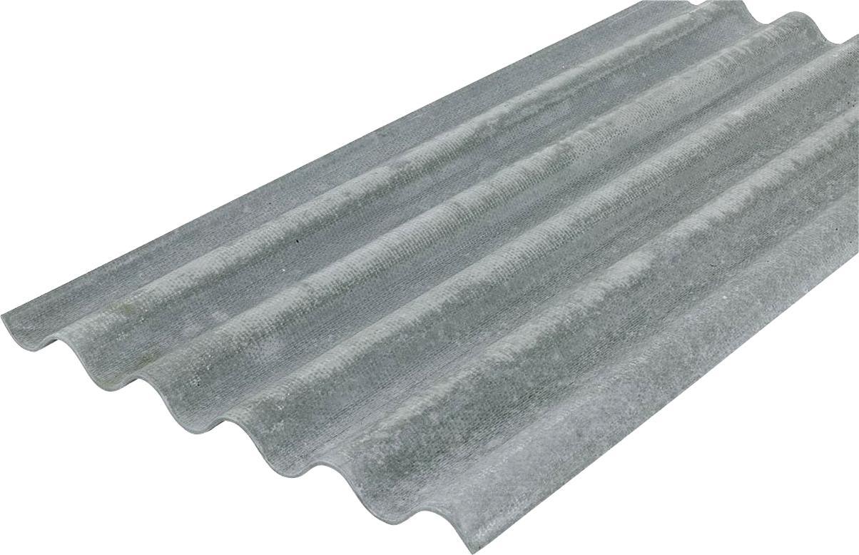 Tole Fibro Ciment D'occasion | Plus Que 2 À -65% à Bordure P1 Bricoman