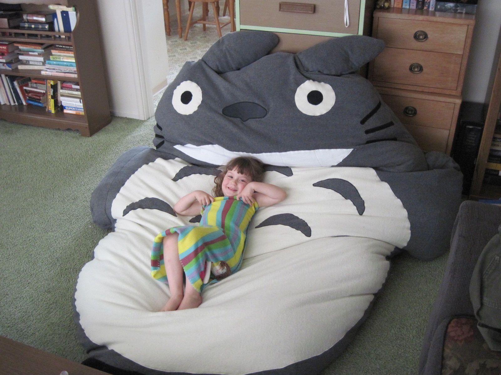 Totoro   Totoro, Idée Couture, Deco Enfant pour Coussin Totoro Geant