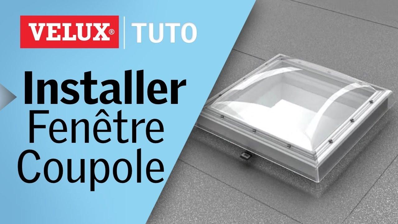 [Tuto] : Comment Installer Une Fenêtre Coupole Velux® Pour Toits Plats ? pour Epdm Toiture Castorama