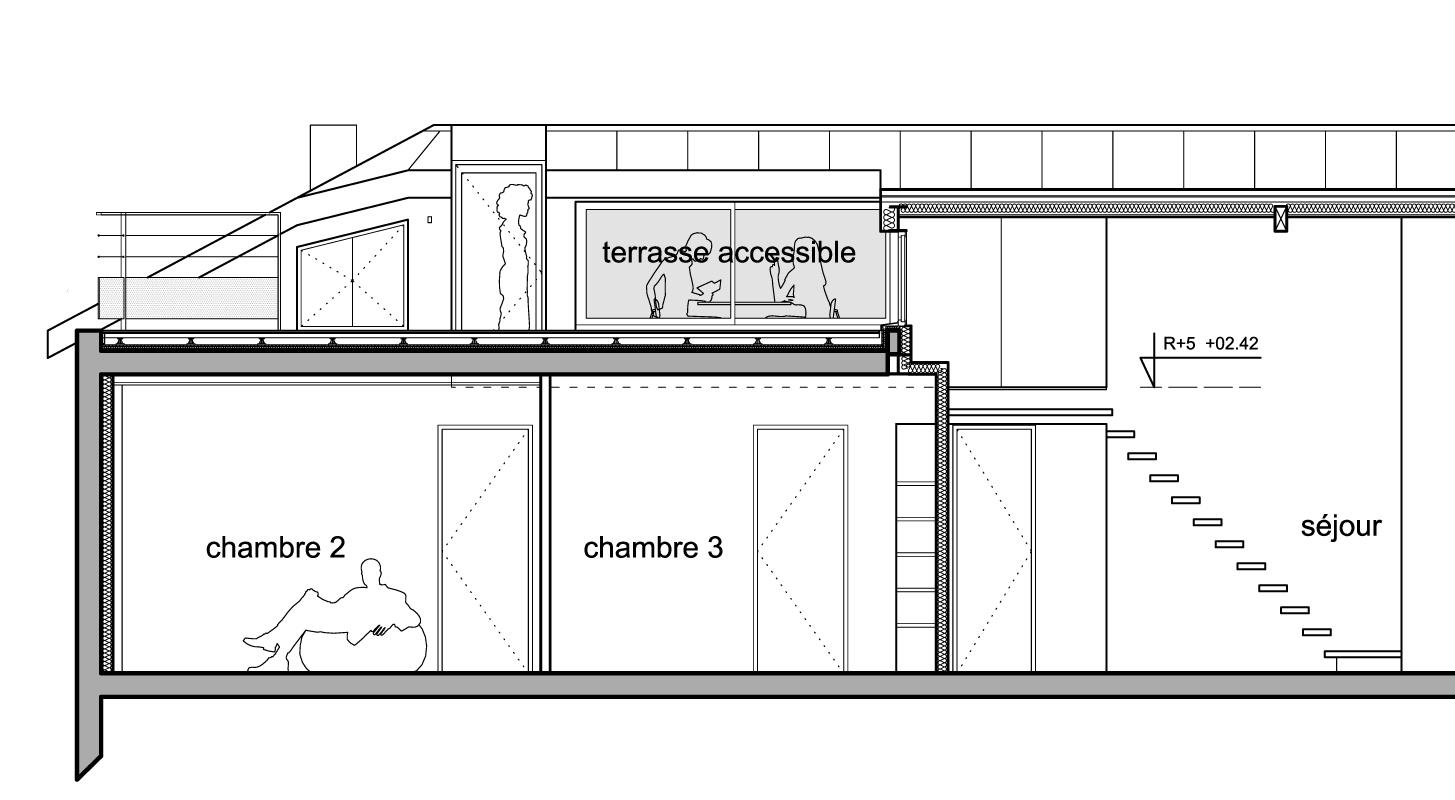 Pente Toiture Terrasse   Idees Conception Jardin