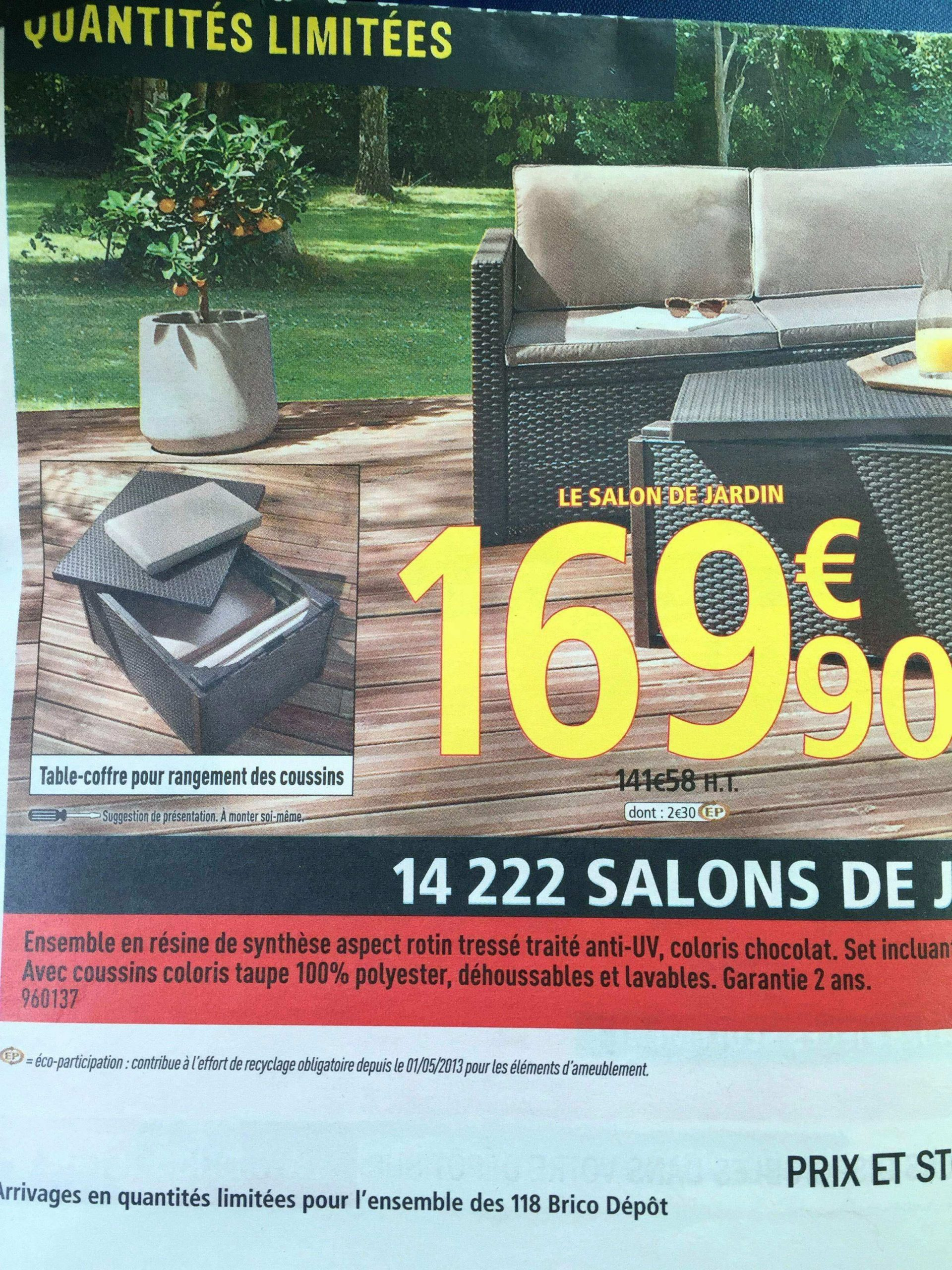 Unique Promo Salon De Jardin Brico Depot | Salon De Jardin ... destiné Salon De Jardin Brico Depot