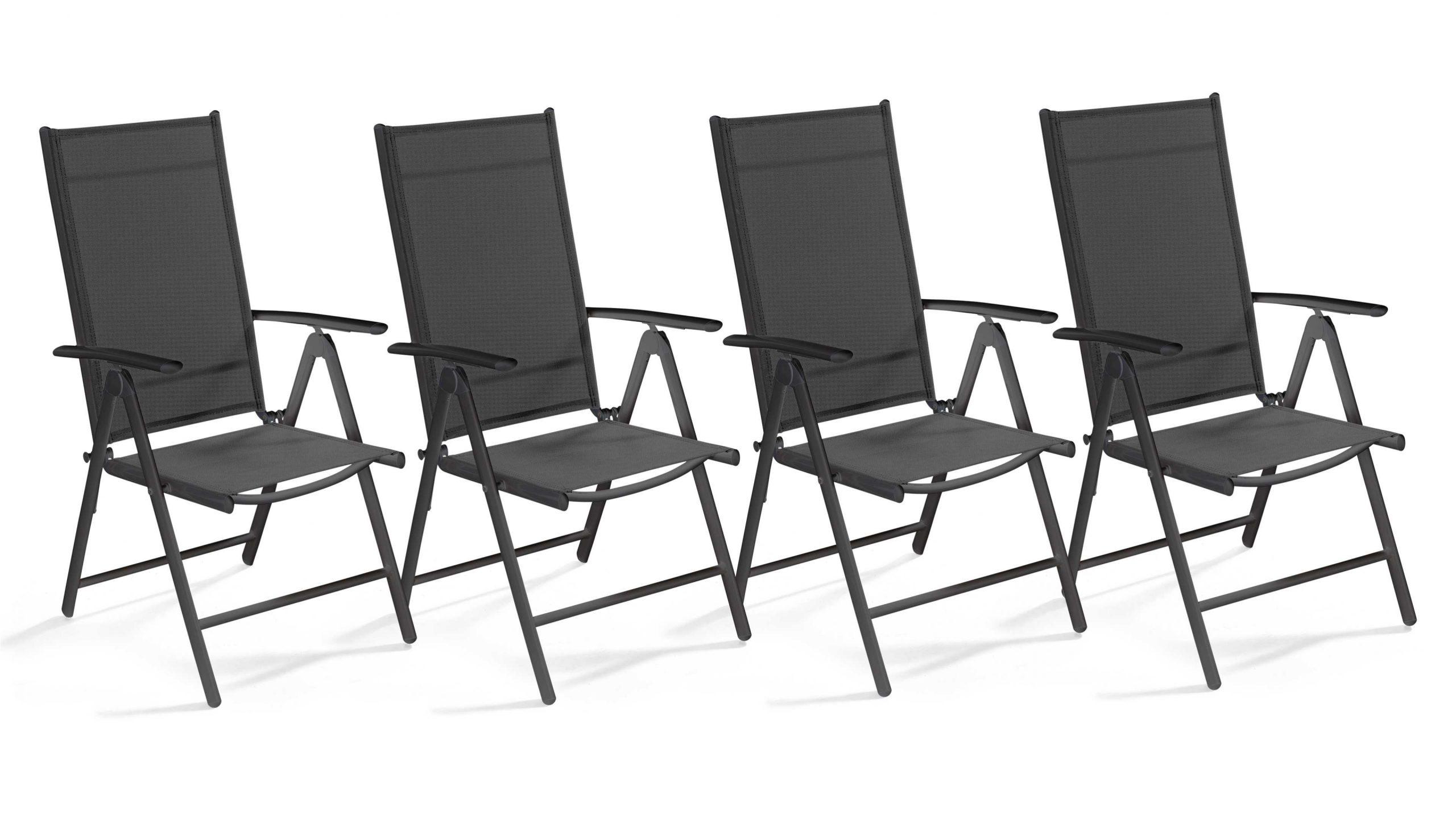 4 Fauteuils De Jardin Multi-Positions pour Fauteuil De Jardin Pliant Multiposition