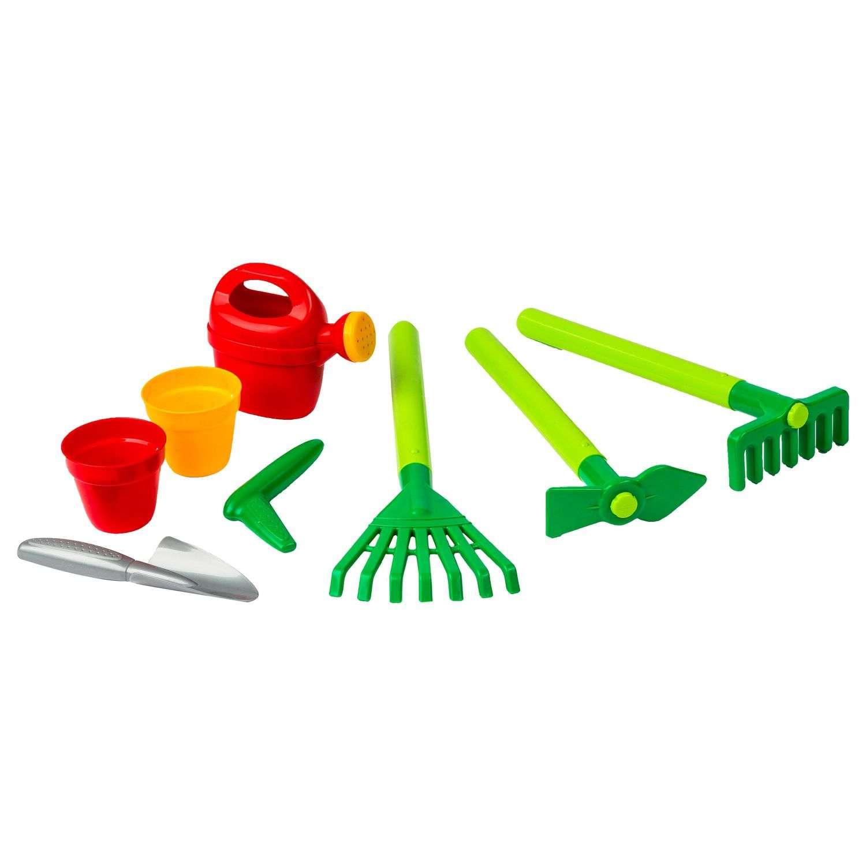 8 Outils De Jardinage Pour Enfant - Plastique - Multicolore intérieur Outils Jardin Enfant