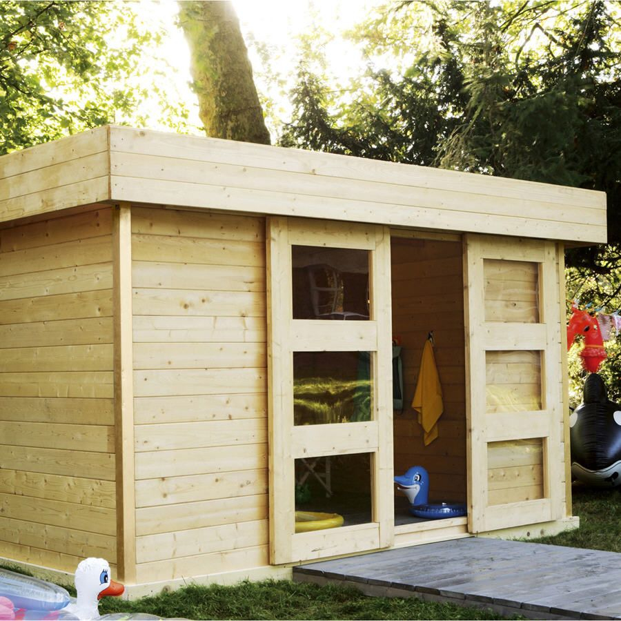Abri De Jardin Leroy Merlin - Abri De Jardin En Bois ... concernant Leroy Merlin Cabane De Jardin