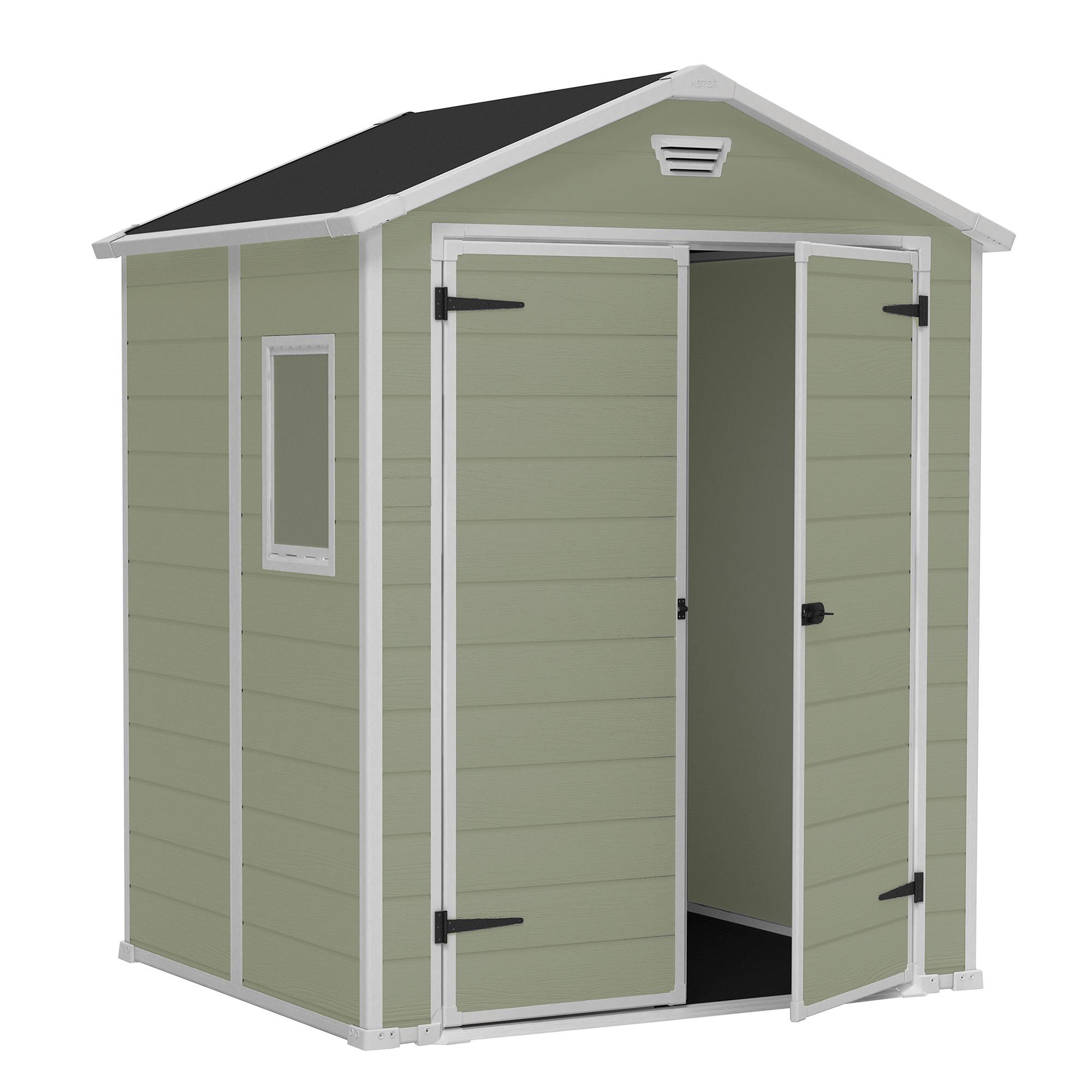 Abri En Résine Vesuve 2,30M² pour Cabane De Jardin En Resine