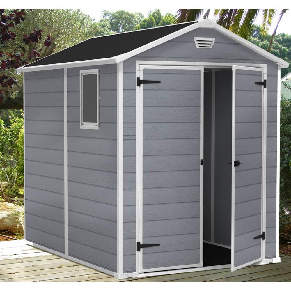 Abri Résine Premium 86 3,70 M² encequiconcerne Cabane De Jardin En Resine