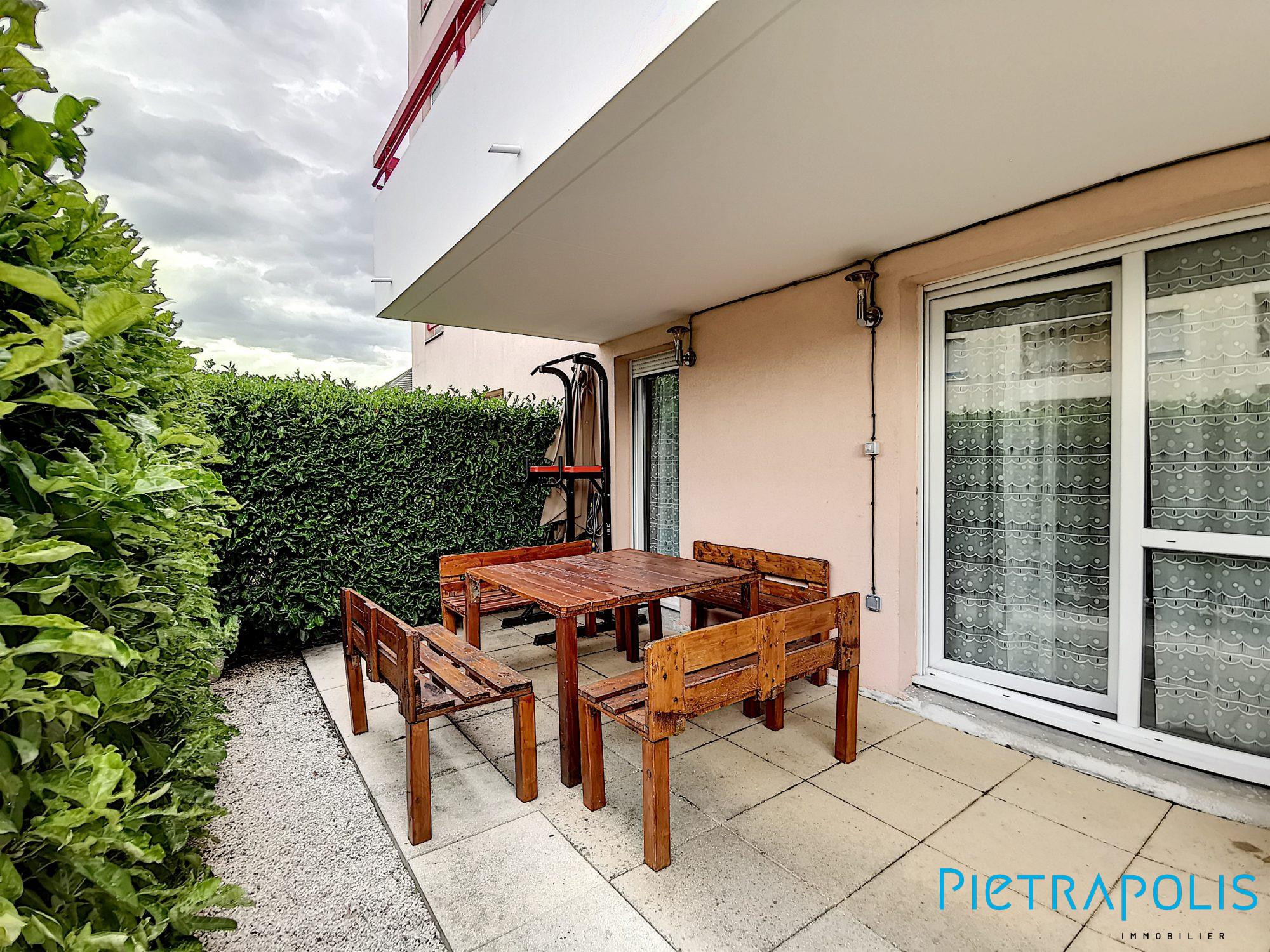 Appartement À Vendre, 2 Pièces - Dijon pour Appartement Rez De Jardin Dijon