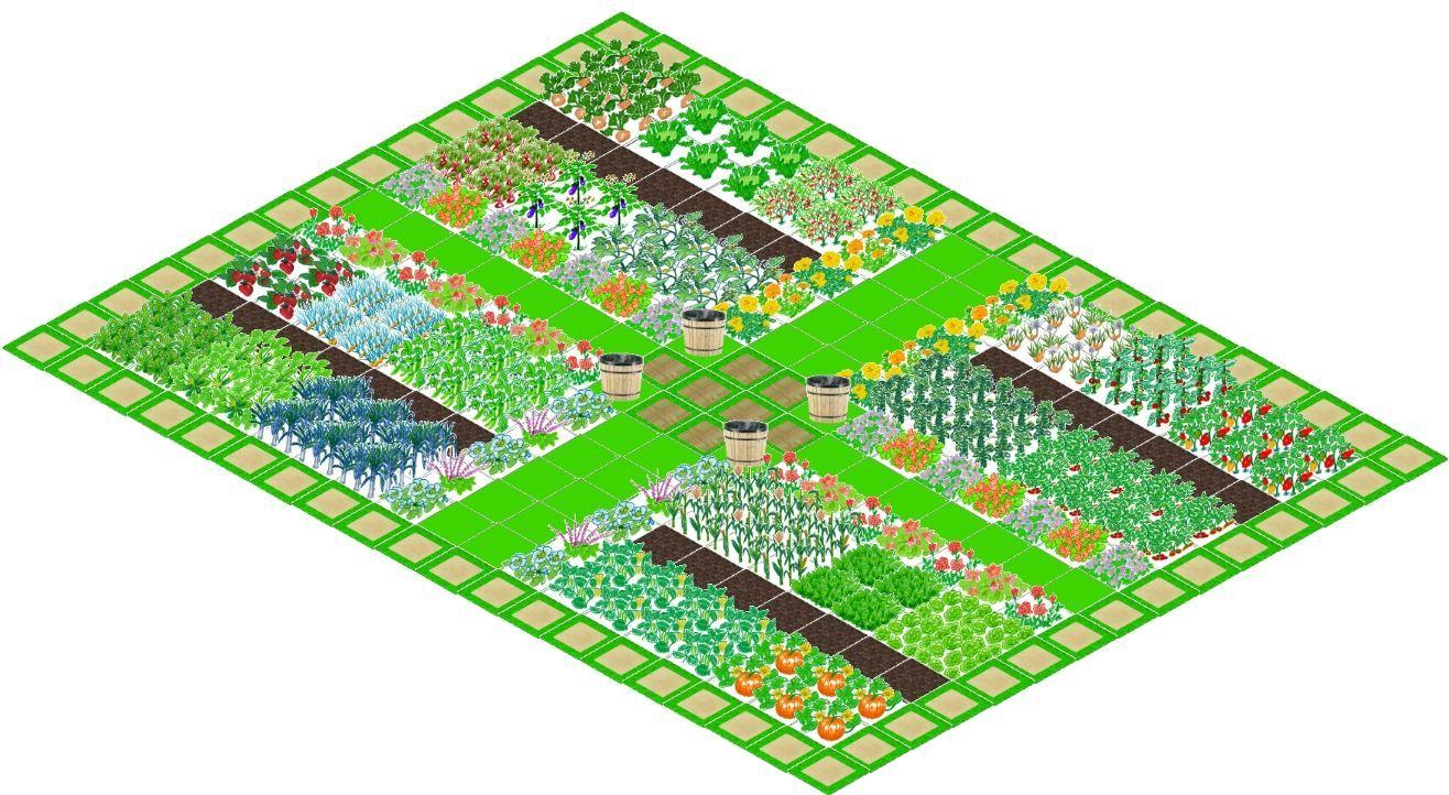 Application Gratuite De Dessin Du Plan De Votre Jardin Potager. à Créer Un Plan De Jardin Gratuit