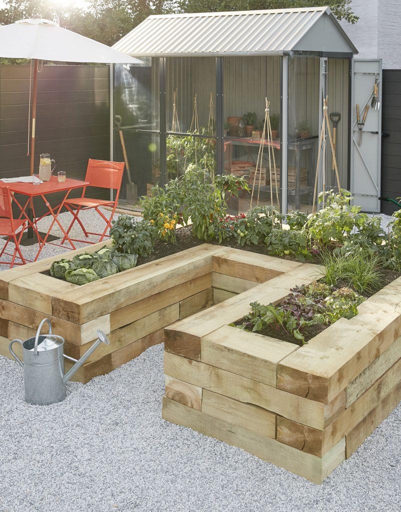 Bien Choisir Et Poser L'abri De Jardin Qui Nous Convient ... avec Support Abri De Jardin