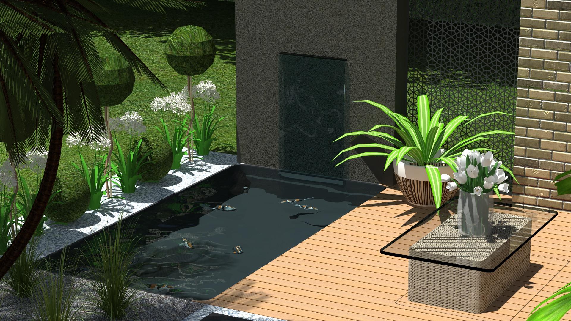 Brehat 2000 Litres 230 X 148 X 60 Cm dedans Bassin De Jardin Préformé Grande Taille