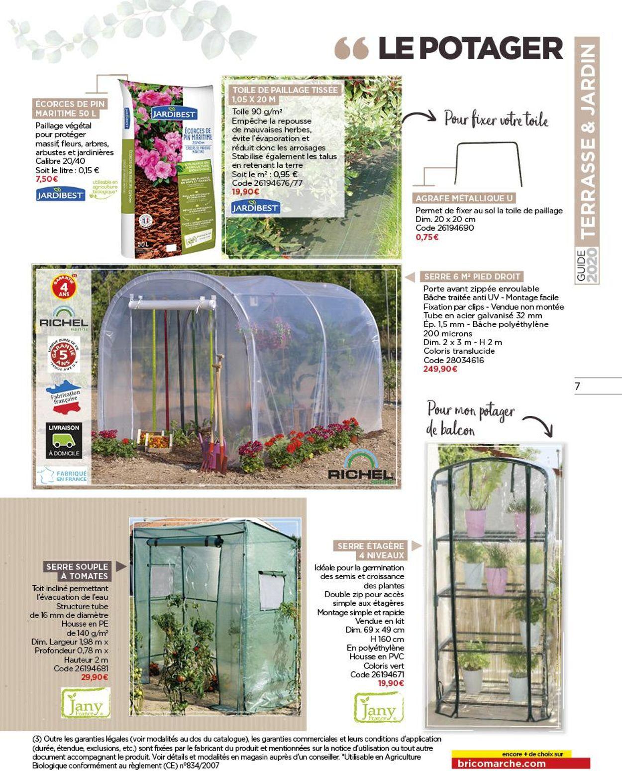 Bricomarché Catalogue Actuel 18.03 - 31.12.2020 [7 ... intérieur Serre De Jardin Bricomarché