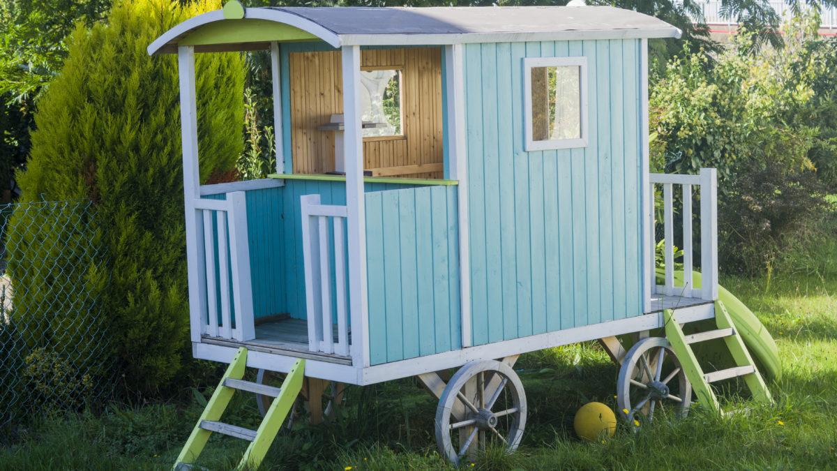 Cabane En Bois Pour Enfant, Cabane Jardin Enfant - Acheter ... encequiconcerne Maison De Jardin Enfant Pas Cher