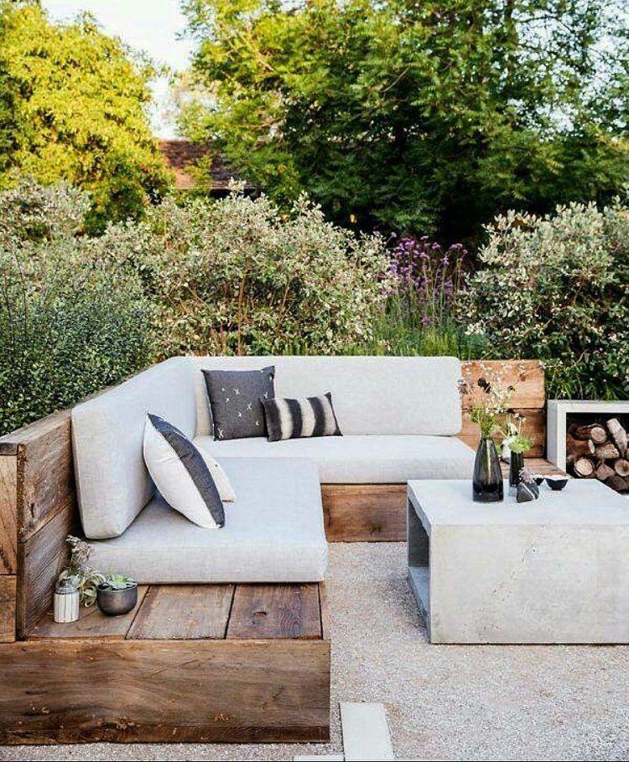 Casa E Jardim | Backyard, Backyard Design, Backyard Seating concernant Salon De Jardin Casa