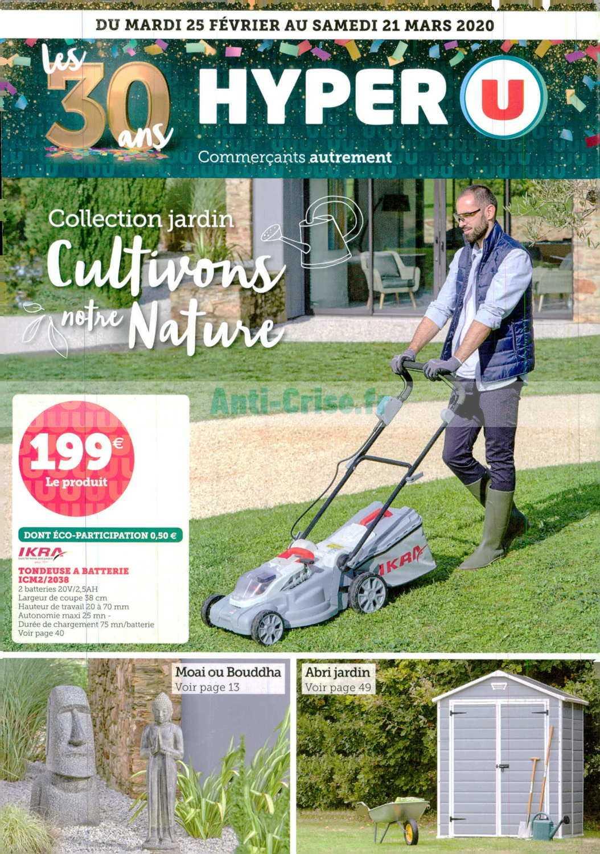 Catalogue Hyper U Du 25 Février Au 21 Mars 2020 (Jardin ... encequiconcerne Salon De Jardin Hyper U