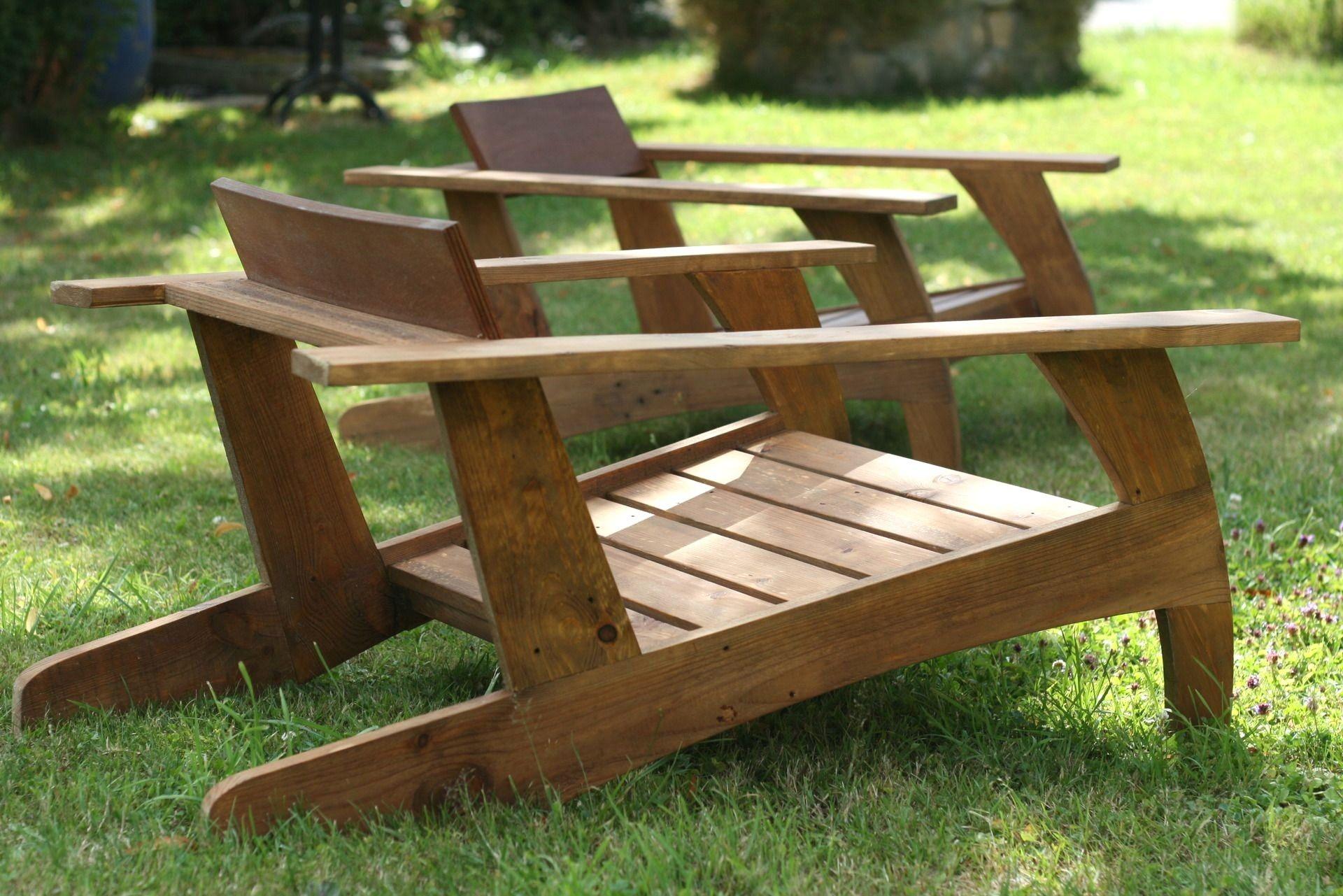 Chaise En Palette Plan Incroyable De Fabriquer Table Basse ... à Chaise Basse De Jardin