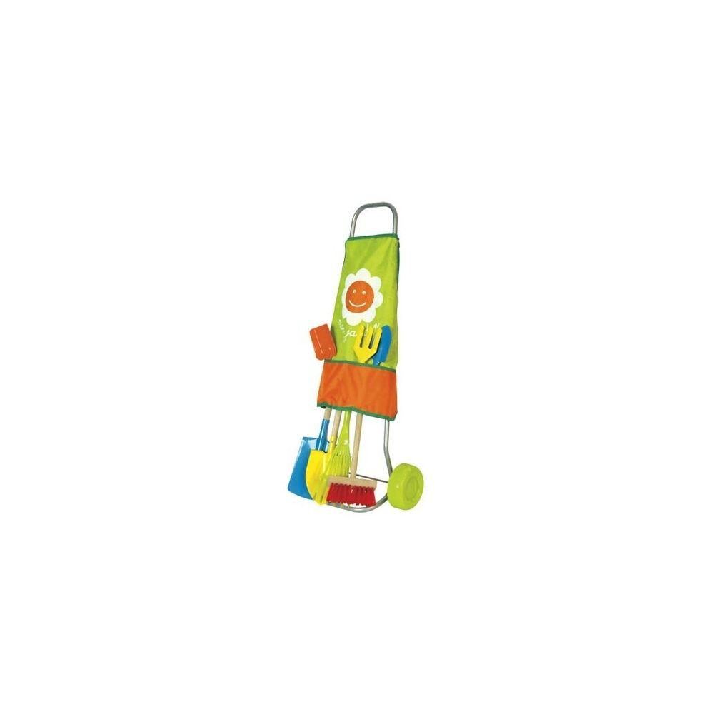Chariot De Jardinage Pour Enfants 7 Outils - House Of Toys concernant Outils Jardin Enfant
