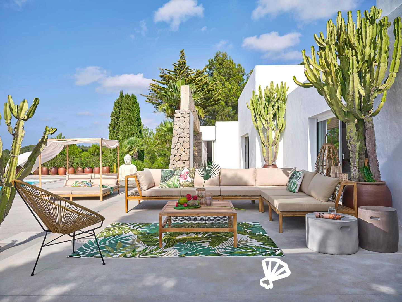 Collection Jardin 2020 | Maisons Du Monde dedans Salon De Jardin Casa