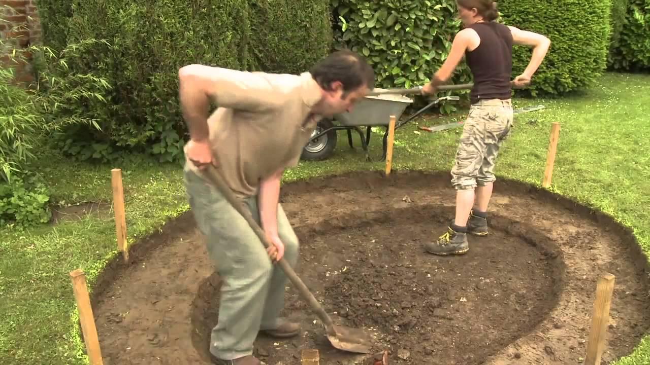 Construire Bassin De Jardin Avec Liner avec Faire Un Bassin De Jardin